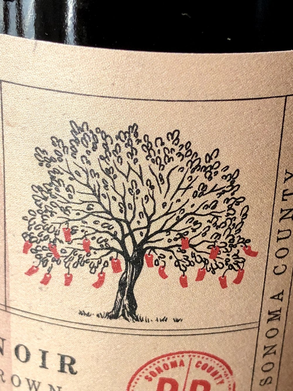 Wishing Tree Belden Barns Wine Label