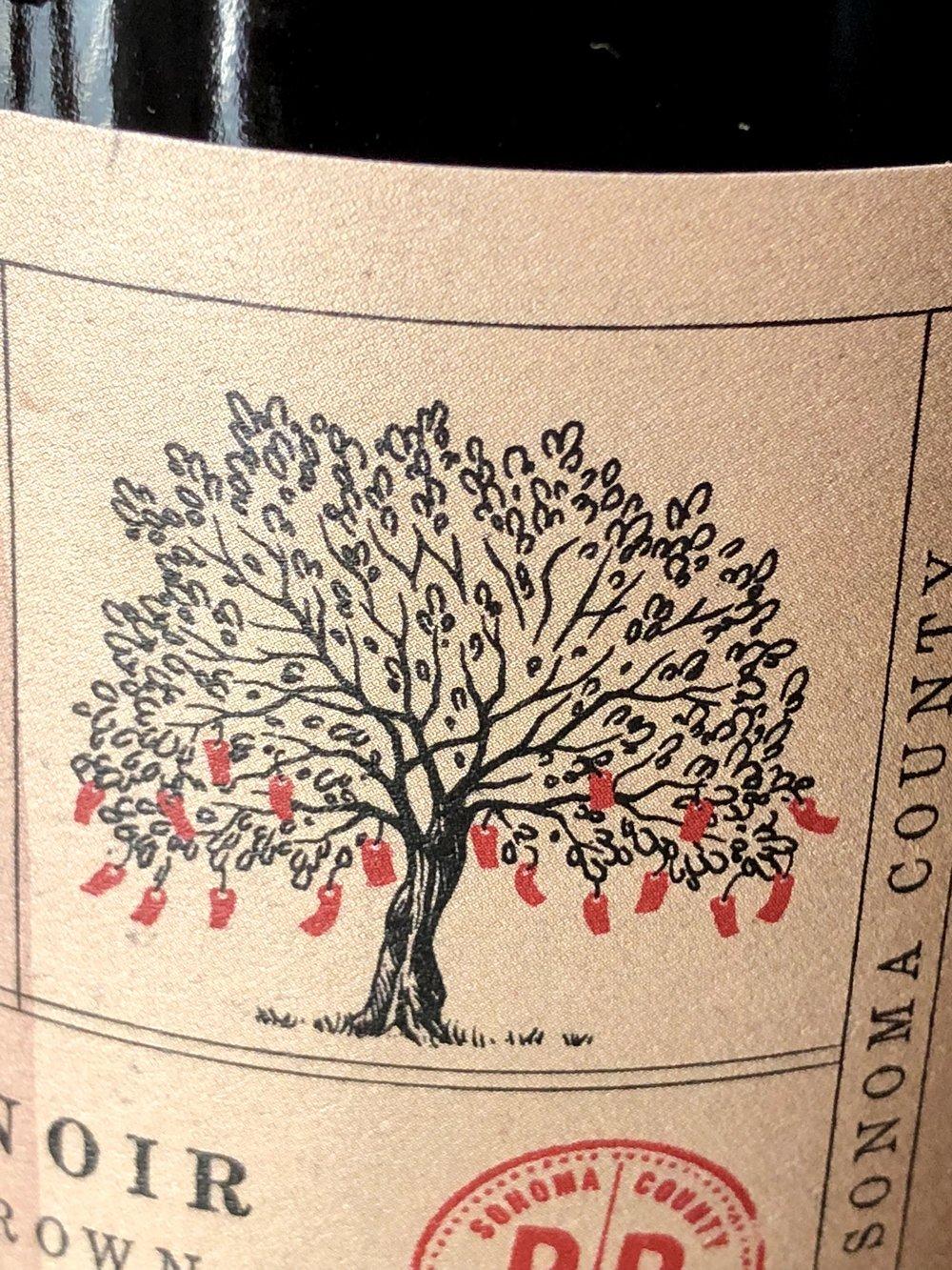 Wishing Tree Belden Barns Wine Label