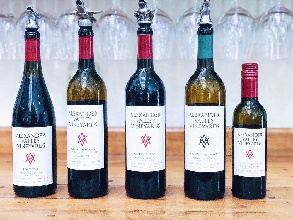 Alexander Valley Vineyards Wine