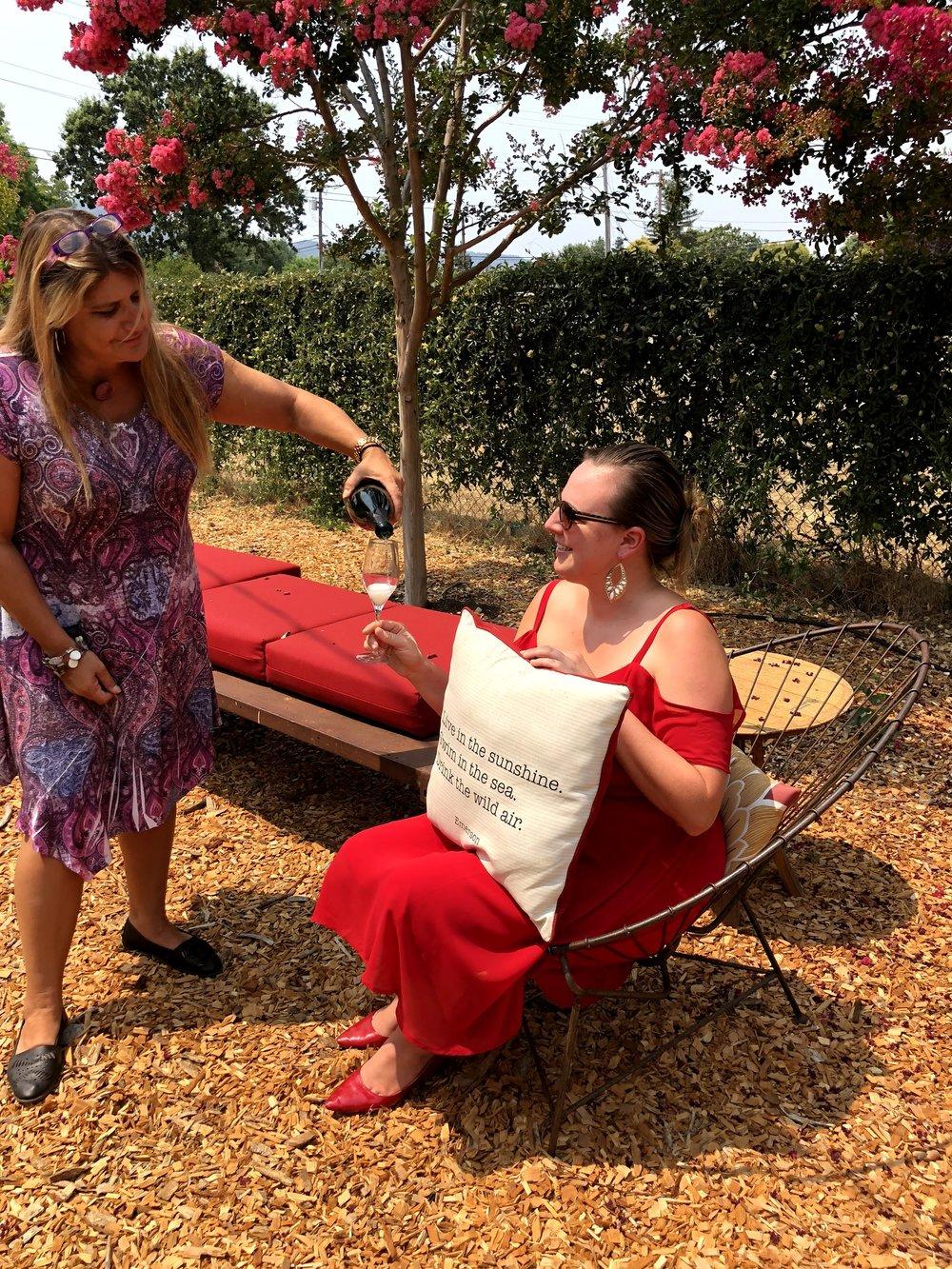 Annette McDonnell Kenwood Paradise Ridge Tasting Manager