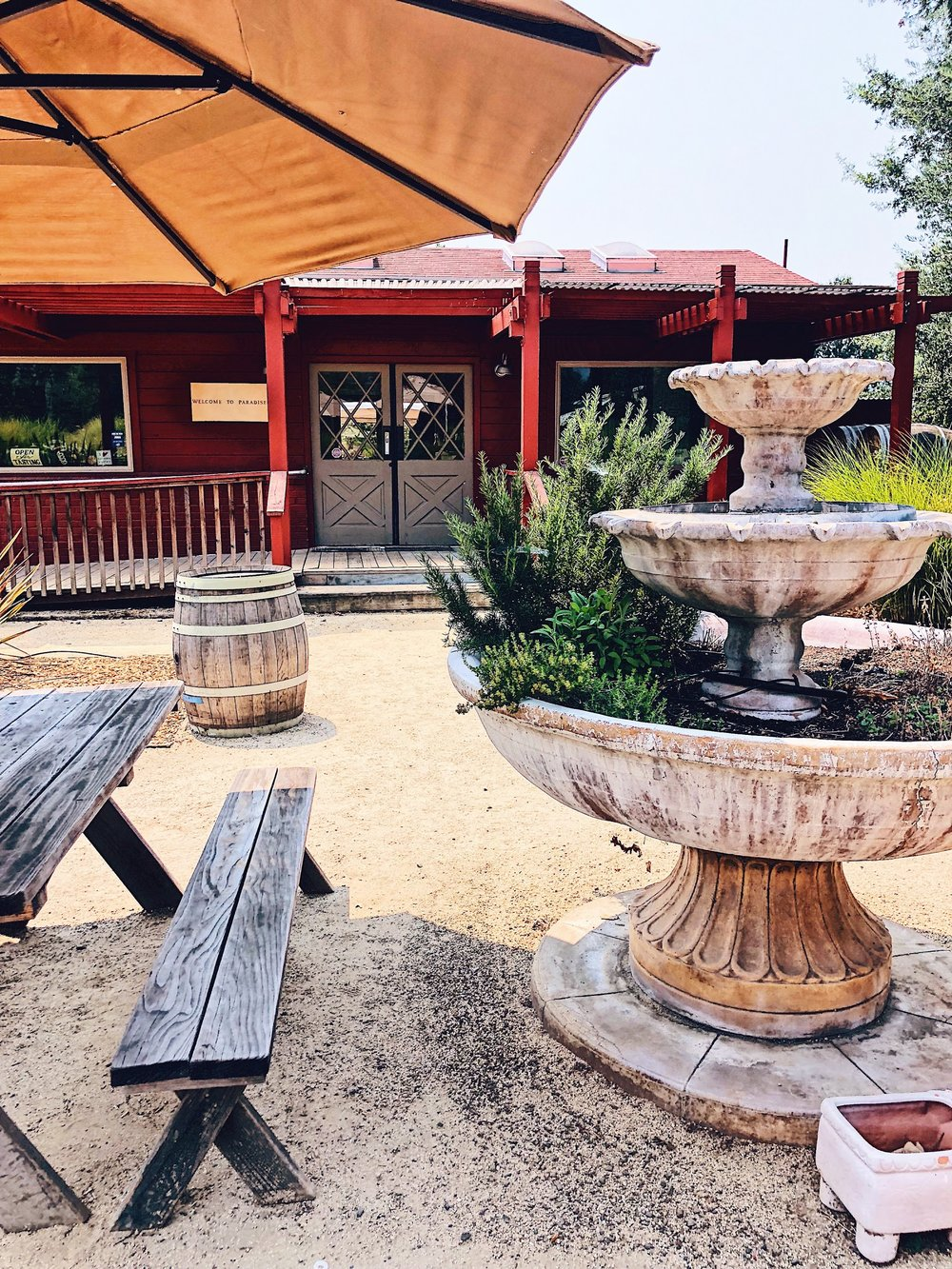 Sonoma County Wine Tasting Paradise Ridge