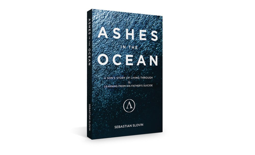 Ashes in the Ocean Cover