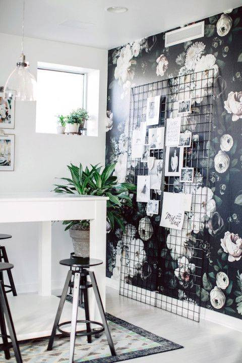 STRIKING BLACK AND WHITE INTERIORS