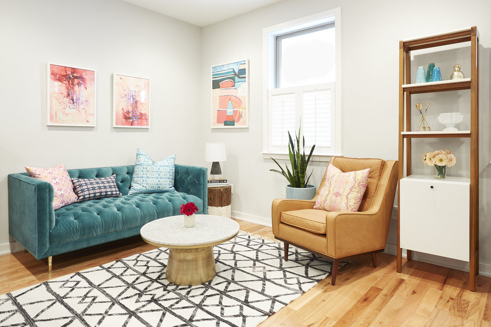 Michelle Gage // Eclectic Color in Manayunk