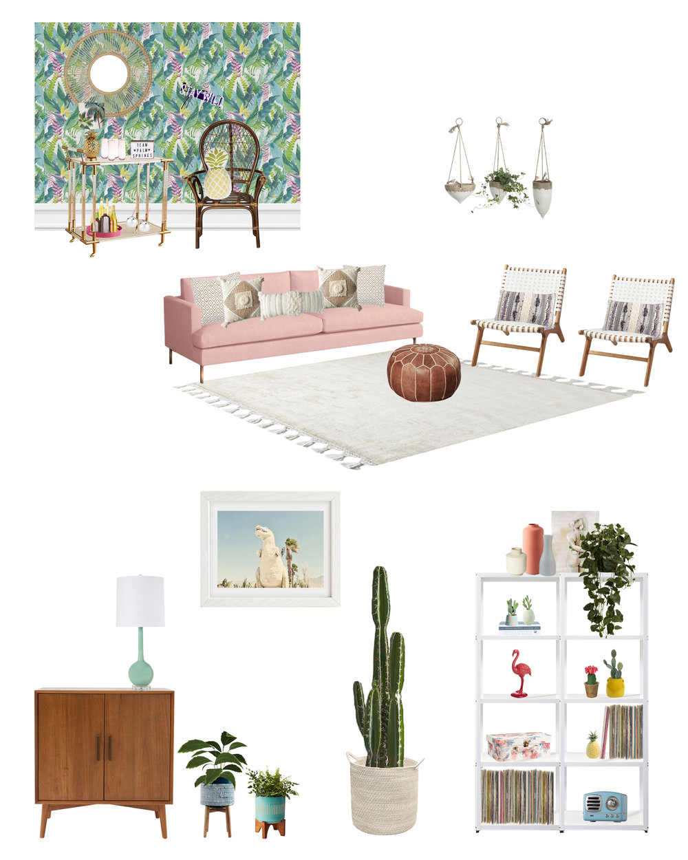 Michelle Gage // Get The Look: Palm Springs Project