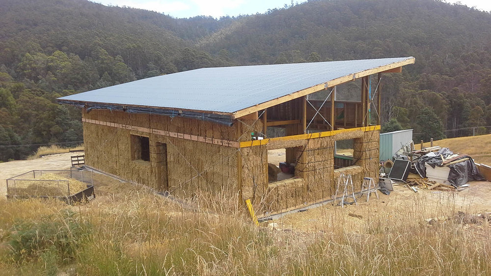 Integral Consulting Engineers - Services Image - House with straw bale walls