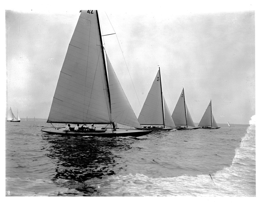 "Levic Collection, ""FIFI, R41""  1925 Long Island Sound"