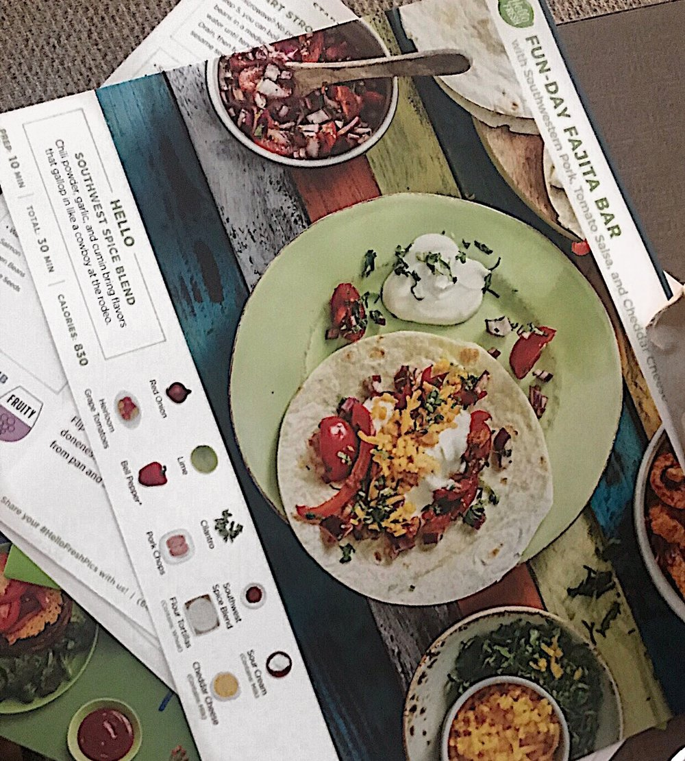 Recipe card | Nutritional facts on the back side -