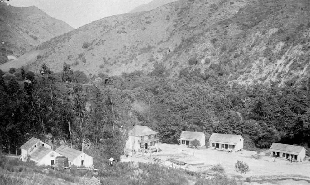 San Juan Hot Springs in the 1890s (Courtesy the Orange County Archives).