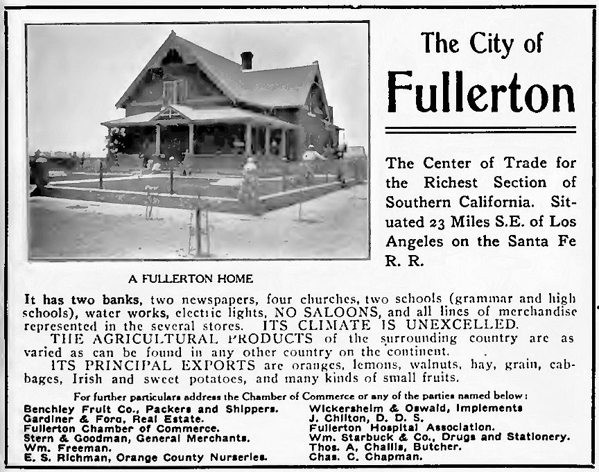Out West  advertisement, 1906.