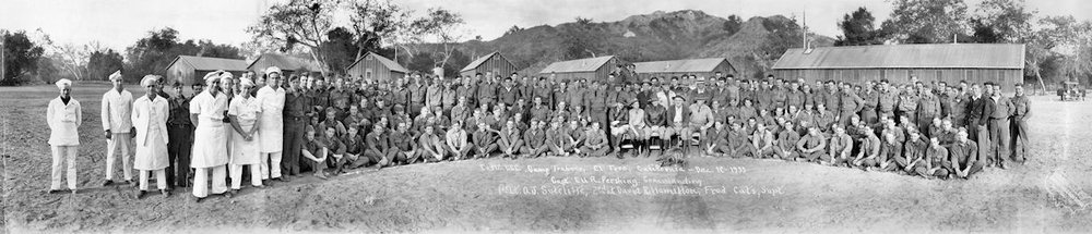 The Trabuco CCC camp, 1933 (courtesy the Orange County Archives).