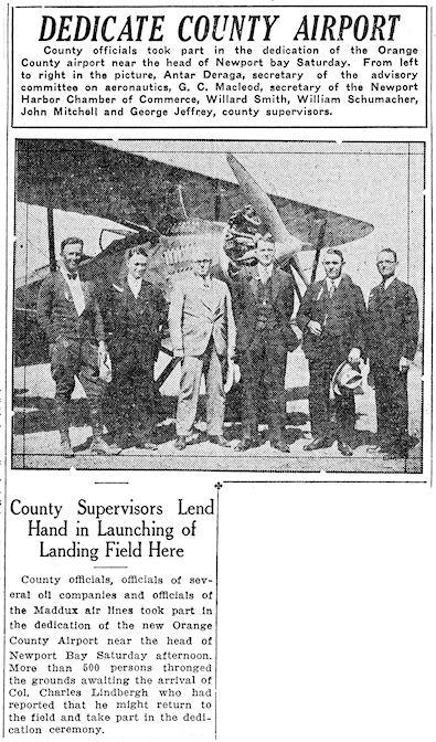 ( Santa Ana Register , April 9, 1928)