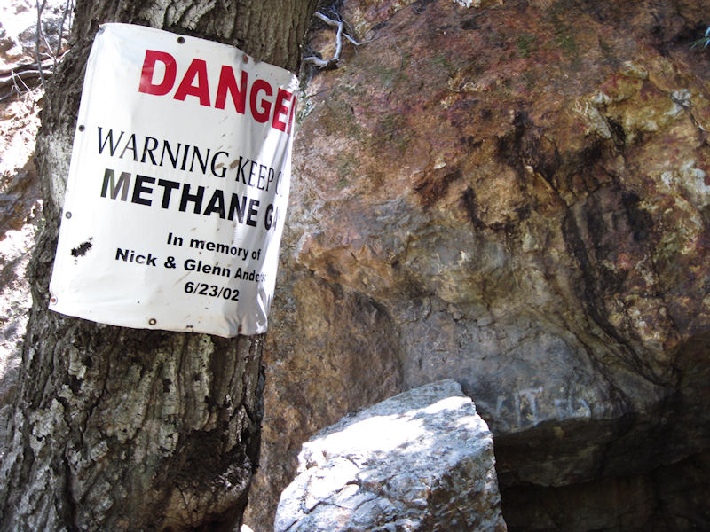 The extreme danger of these old workings was highlighted in 2002 with the deaths of two young men who swam into one of the flooded tunnels and suffocated in the poison gases beyond.