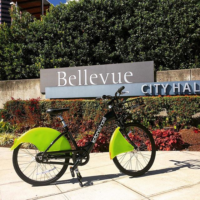 Our trip to Bellevue, Wa was GREAT! #bikeshare #urbanmobility #bikesharing #tech #sustainability #sustainable