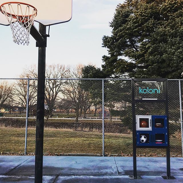 A Koloni Kube is now installed into a park in Pocahontas, Iowa.