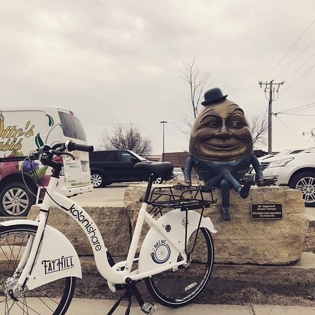 Mason City, Iowa - #bikesharing #bikeshare #sharingeconomy #iowa #tech #iot #mobility #bike #bicycle