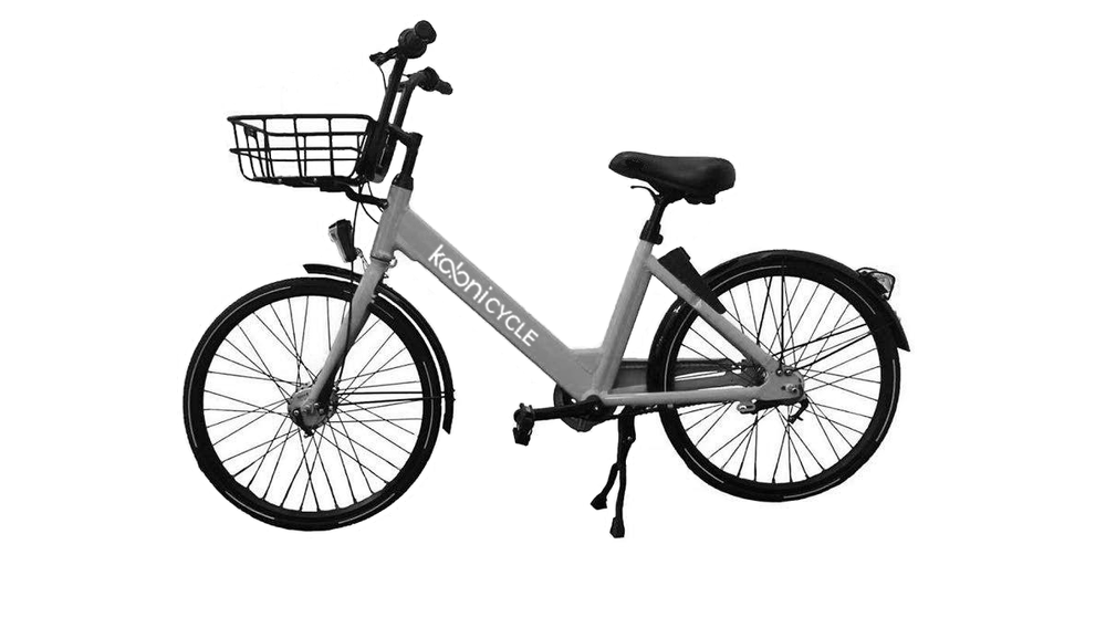 Koloni Bikes   Our Koloni bike creates a user experience unlike any other bike share on the market. The basket in the rear creates better handling for the rider, the step-thru frame makes it able to fit riders of all sizes and the belt drive makes this bike last along time.