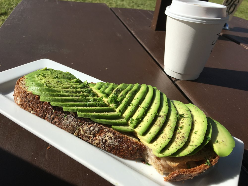 Hanalei Bread Co. Avocado Toast