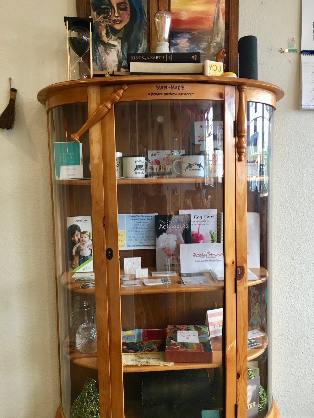 Showcasing Pod-Mom-Made Products