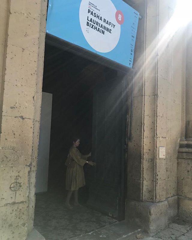 """La 49e édition des Rencontres d'Arles se termine et la Chapelle de la Charité ferme ses portes. Les expositions de """"Bad News"""" de Pasha Rafiy et """"On the Other End"""" de Laurianne Bixhain seront prochainement présentées au Luxembourg.  #letzarles #luxembourg #pasharafiy #badnews #lauriannebixhain #ontheotherend #chapelledelacharite #rencontresarles #arles #photo #festival"""