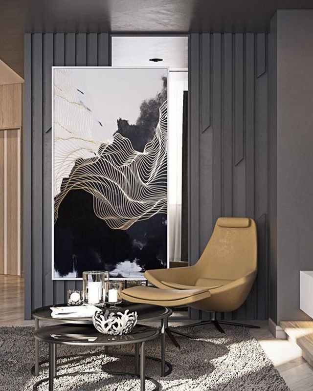 We love this mix of mid-century modern furniture & abstract art. You'll see this mix all across our latest collection. ❤️PC: @archdigest . . . . . . . #Believe #Believehome #BelievebyMichelle #BelievebyMichelleWilliams #MichelleWilliams #MichelleWilliamsHomeDecor #InteriorDesign #HomeDecor #Design #Home #ModernHome #ContemporaryHome #ModernDesign #ContemporaryDesign #DesignInspo #DecorTips