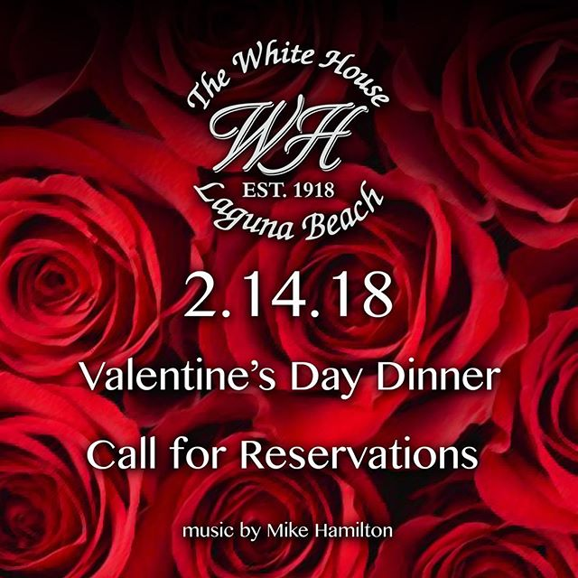 Romance is in the air. Come spend Valentines Day by the beach. Call for reservations