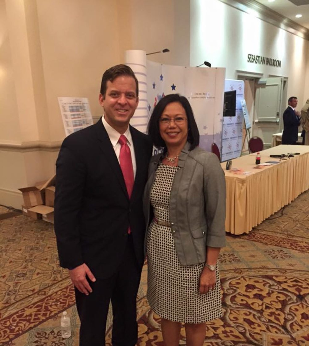 With Florida Lt. Governor Carlos Lopez-Cantera