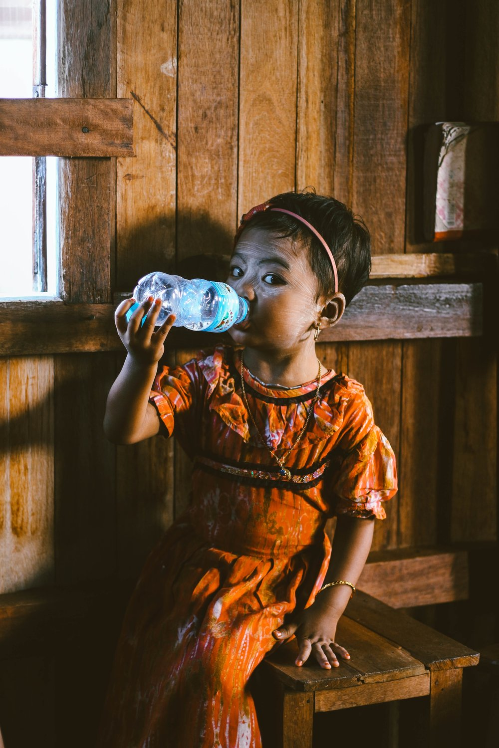 Some 1,400 children die each day from water-related diseases. -