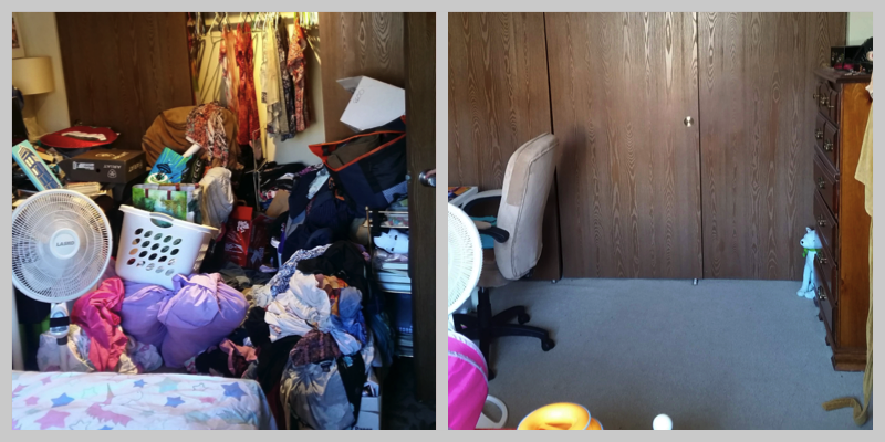 Bedroom: Before & After