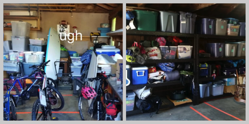 Garage: Before & After