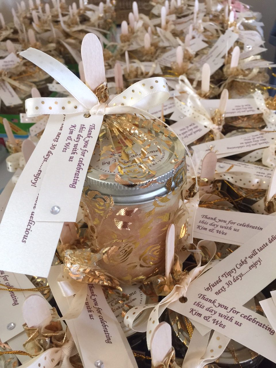 Little Tipsy Cakes - edible wedding favors- The cake Zone.JPG