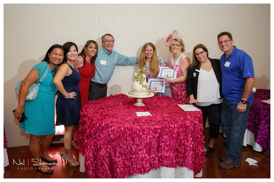 2015 Tampa Bay NACE Meeting Wedding Cake Decorating Competition | Rustic, Elegant Sarasota Wedding Venue | Bakers Ranch