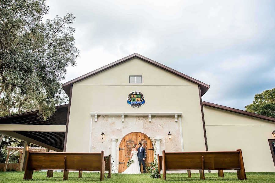 Outdoor Sarasota Wedding Ceremony | Sarasota Wedding Venue Bakers Ranch | Southern Inspired Wedding Styled Shoot