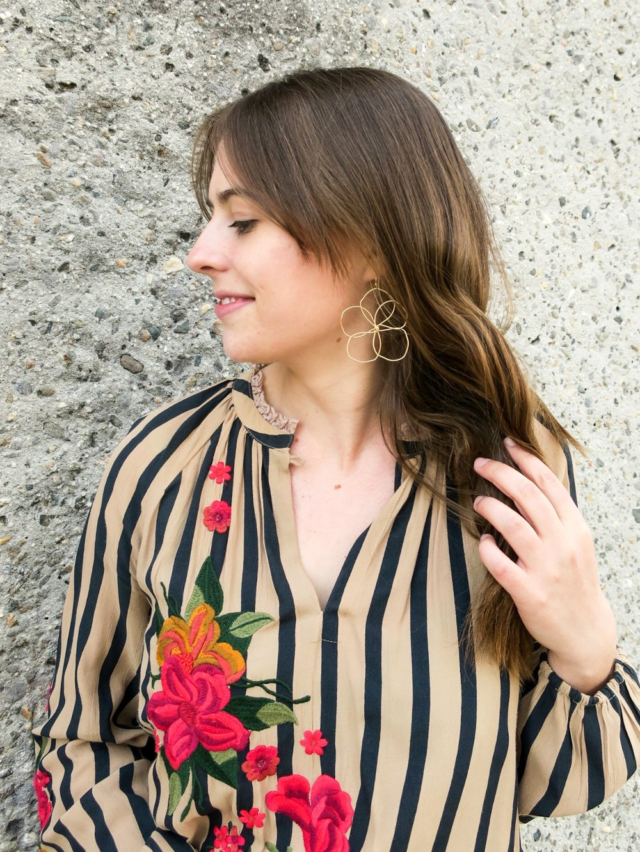 anthropologie gold flower earrings.JPEG