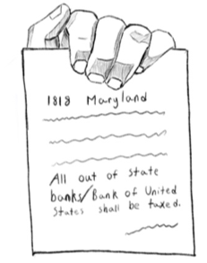 McCulloch v. Maryland, 17 U.S. 316 (1819)