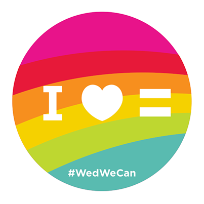 We cheer, honor, & celebrate with our whole hearts the love of every gender, every sexuality, every race, every religion, of everyone.