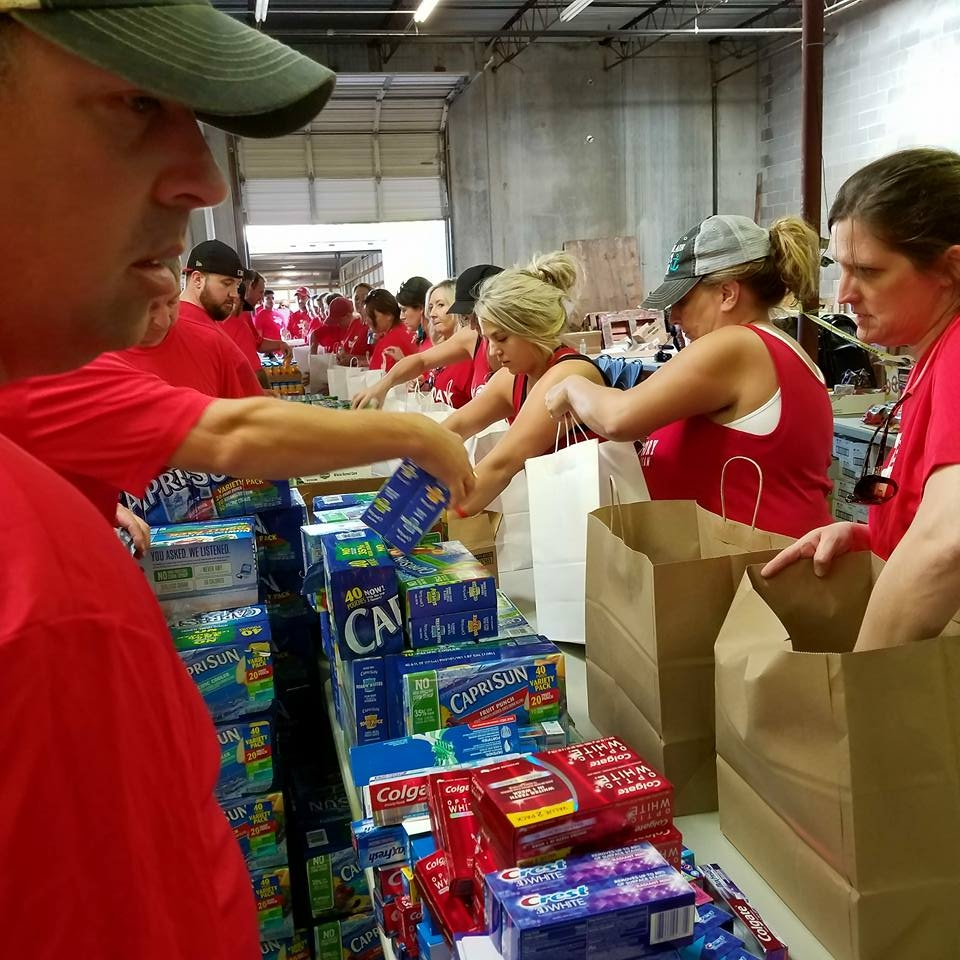 Helping in Houston, TX after Hurricaine Harvey -