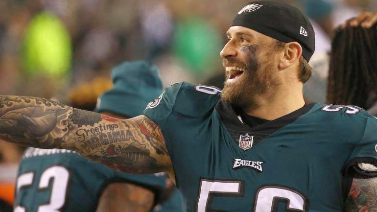 Chris Long likes us so much that he got a Greetings Virginia tattoo on his arm and showed it off his guns for the cameras during the big game!