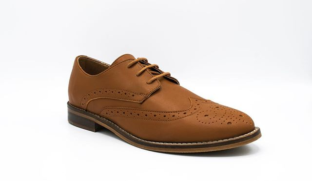 Show your Confidence in our Brown Wingtips, Coming Soon!