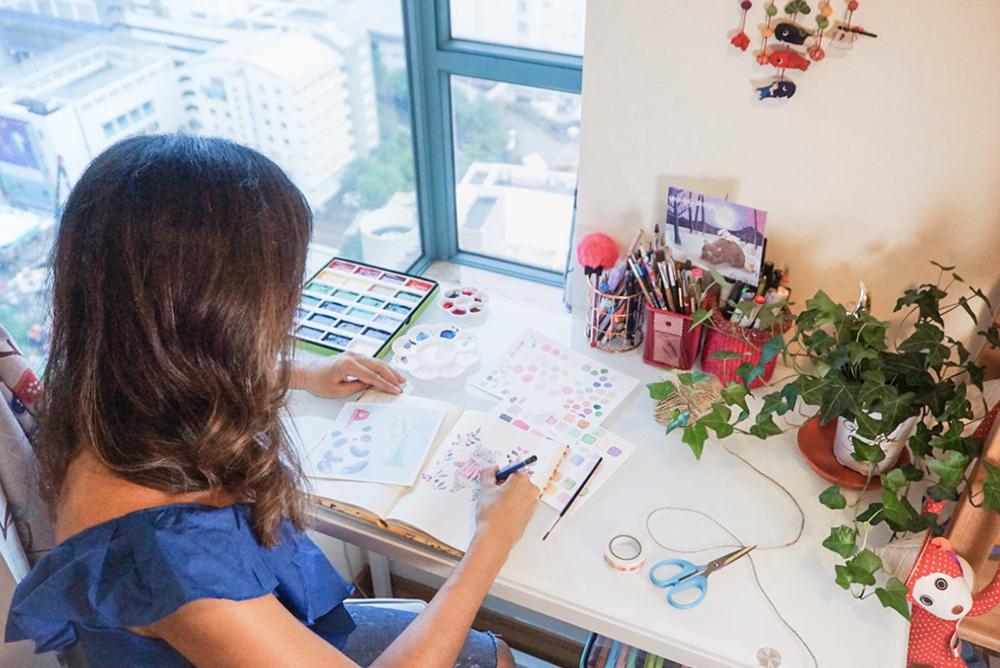 Gina Maldonado in studio.jpg