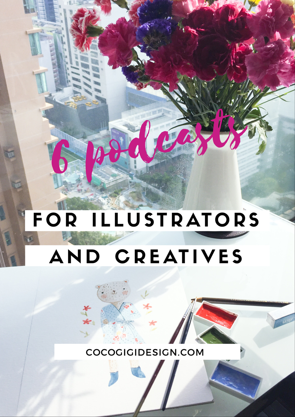 Gina Maldonado - 6 podcasts for illustrators and creatives.jpg.PNG