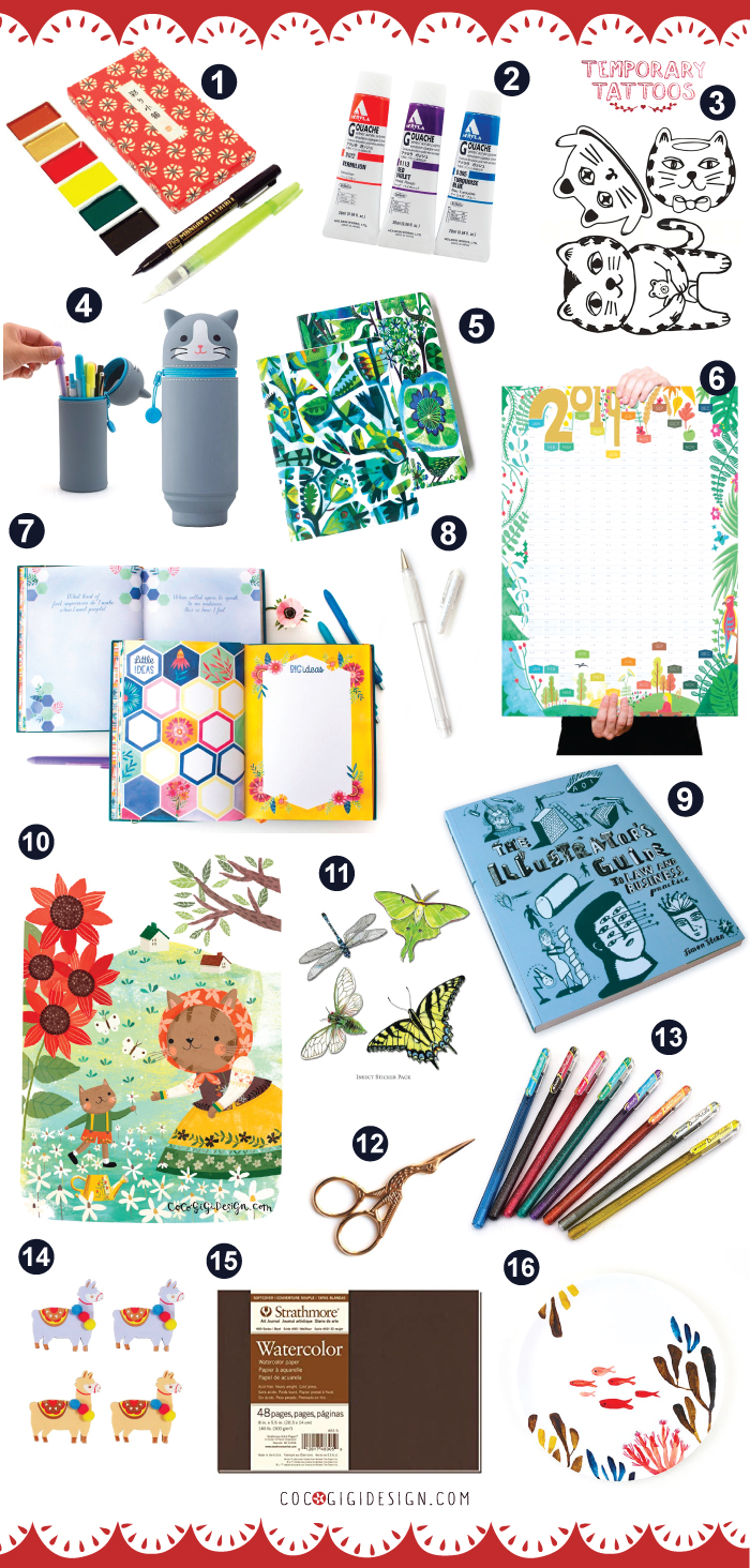 Best gifts for artists - the ultimate Christmas guide — Coco Gigi Design