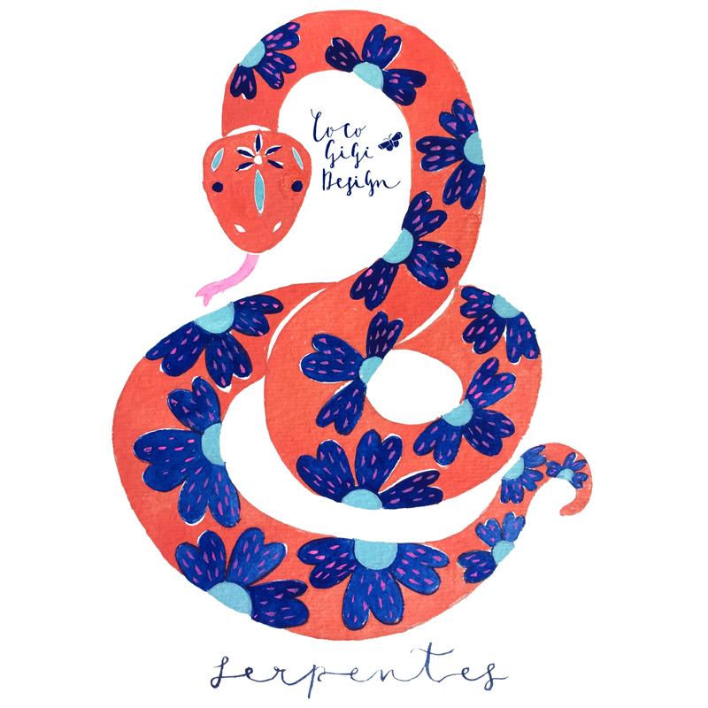 Chinese Zodiac -Snake