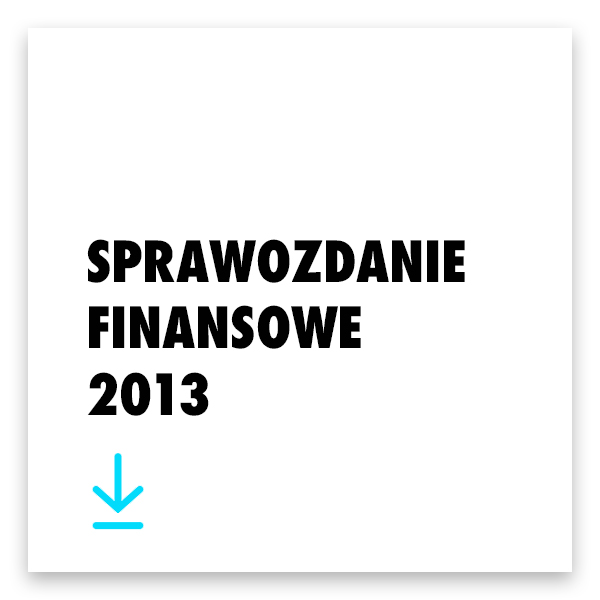 Pobierz sprawozdanie finansowe 2013