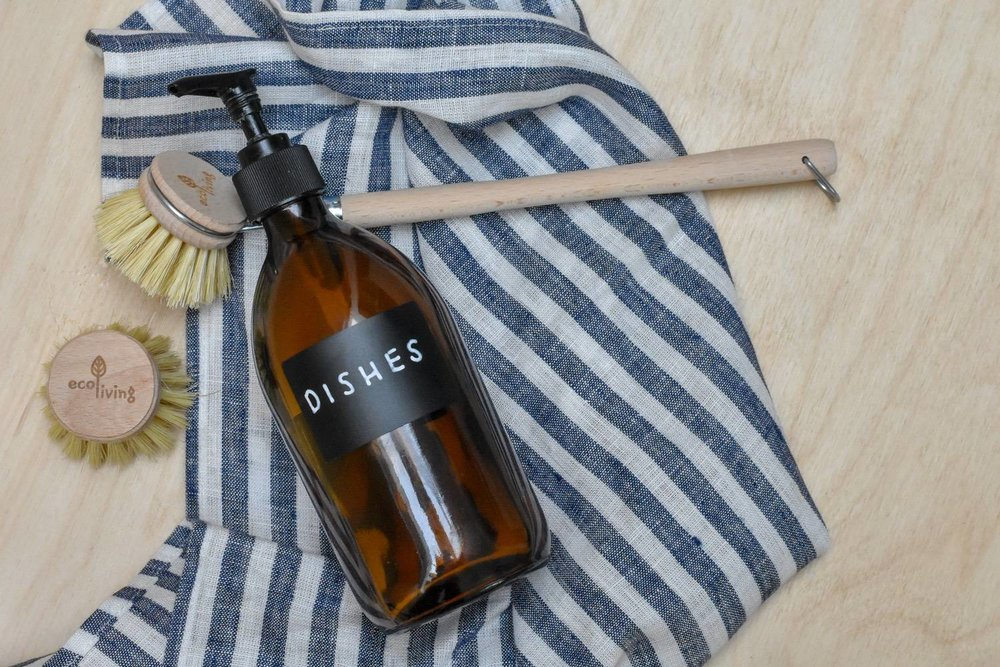 refillables - Because bigger sizes = far less plastic, we've been gradually investing in five litre bulk-sizes of cleaning and bathroom products - including this washing up liquid. I'm a big fan of Bio D, who tick all my eco boxes, but there are plenty to choose from.Pay-as-you go top-ups are also easy to find in many health-food stores, eco-shops & zero-waste-bulk stores. There is a handy refill locator tool on the Ecover website, but given Ecover is now owned by SG Johnson, this might not be your thing.Finally, a special small-brand shout out to Roots and Cycles. If you're in SE London, grab your empties and make a bee-line to Crystal Palace. You'll find the most sustainably sourced line-up of refillable household products I've seen anywhere.