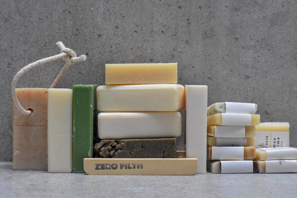 plastic free soaps