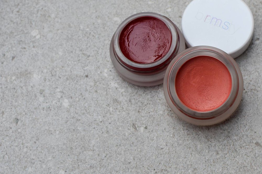 RMS BEAUTY - If you want to splash out, or are sensibly adopting a 'buy less, buy better' thing, RMS Beauty is a proper treat.The minimal packaging is made from sustainable materials, meaning it's either reusable, recyclable or compostable - and many products are entirely plastic free.I have a pot of lip colour and a cheek tint, both of which are in glass pots with metal lids.The range is organic, beautiful quality, but wowzers, it's expensive!I discovered RMS at a sustainable Christmas pop-up event (Oooops. Happy Christmas to me) but have since found it stocked at Space NK too, which might spell danger.