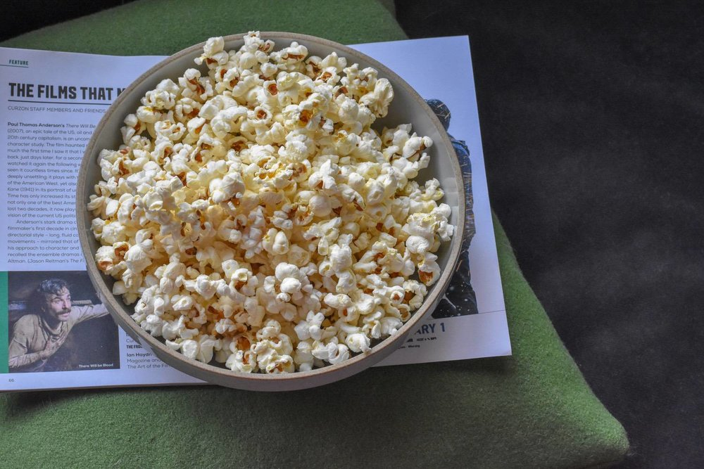 POPCORN - I mean, what could be easier?You'll find plain popping corn almost everywhere, then all you need is a saucepan. Even if you buy a bag of kernals in plastic bag, the amount of popcorn you'll be able to make, means it's still a very low-plastic option.It's easy to find in unpackaged in bulk stores, if you're lucky enough to have one nearby, or, order it plastic-free from Zero Waste Club or Plastic Free Pantry. If salty or sweet feels a bit boring to you, Pinterest is overflowing with ways to jazz it up. Or next level, use it as the base to make these rather delicious looking rocky-road bars. My kids are totally happy to be sent off to school with this as their after school 'club day' snacks, even if they do look like 1970's throw-backs (it's the brown paper bags that do it).