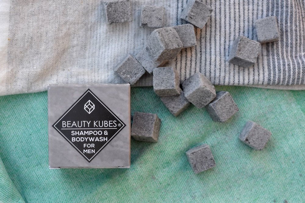 beauty kubes - Beauty Kubes are a big cube of small cubes (sorry, kubes) - 27 individual portions of solid shampoo/bodywash, that you smush in your palm and mix with a little bit of water to form a paste. And bosh. Just the right amount for a single wash. Of all the solid shampoo products I've tried, these are my favourite, by far!All products are free from plastic packaging, contain hair loving natural and organic ingredients and biodegradable, sulphate-free surfactants. Long words, that basically mean they are ingredients that are safe for humans AND marine life.These are cruelty free and suitable for vegans too – like all my recommendations.