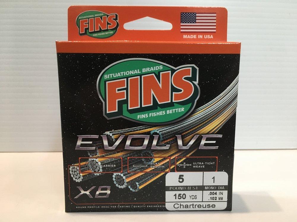 Fins Evolve